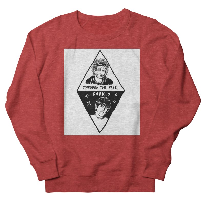 Keith Richards: Through The Past, Darkly Women's Sweatshirt by Kelsey Zigmund Illustration