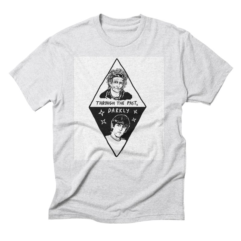 Keith Richards: Through The Past, Darkly Men's T-Shirt by Kelsey Zigmund Illustration