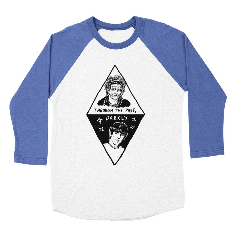 Keith Richards: Through The Past, Darkly Women's Longsleeve T-Shirt by Kelsey Zigmund Illustration