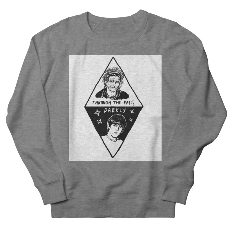 Keith Richards: Through The Past, Darkly Women's French Terry Sweatshirt by Kelsey Zigmund Illustration