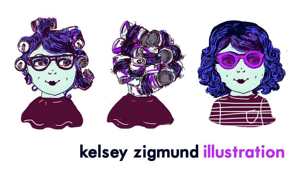 Kelsey Zigmund Illustration Logo