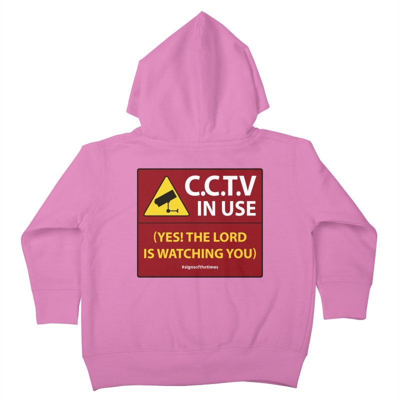CCTV: The LORD is Watching You! - Christian Design   by Kelsorian T-shirt Shop