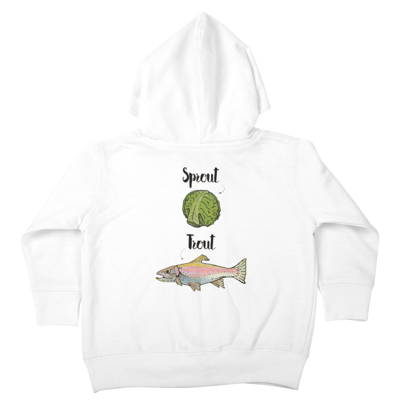Sprout / Trout - Wordplay Illustration   by Kelsorian T-shirt Shop
