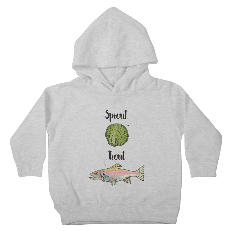 Sprout / Trout - Wordplay Illustration Kids  by Kelsorian T-shirt Shop