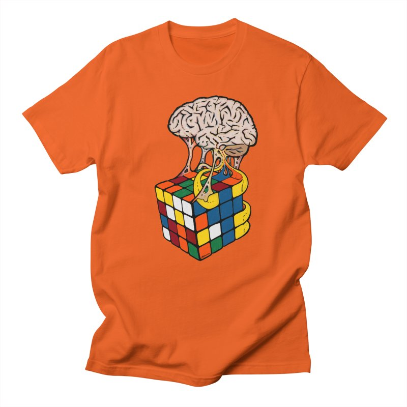 Cube Brain Men's T-Shirt by Kelsorian T-shirt Shop