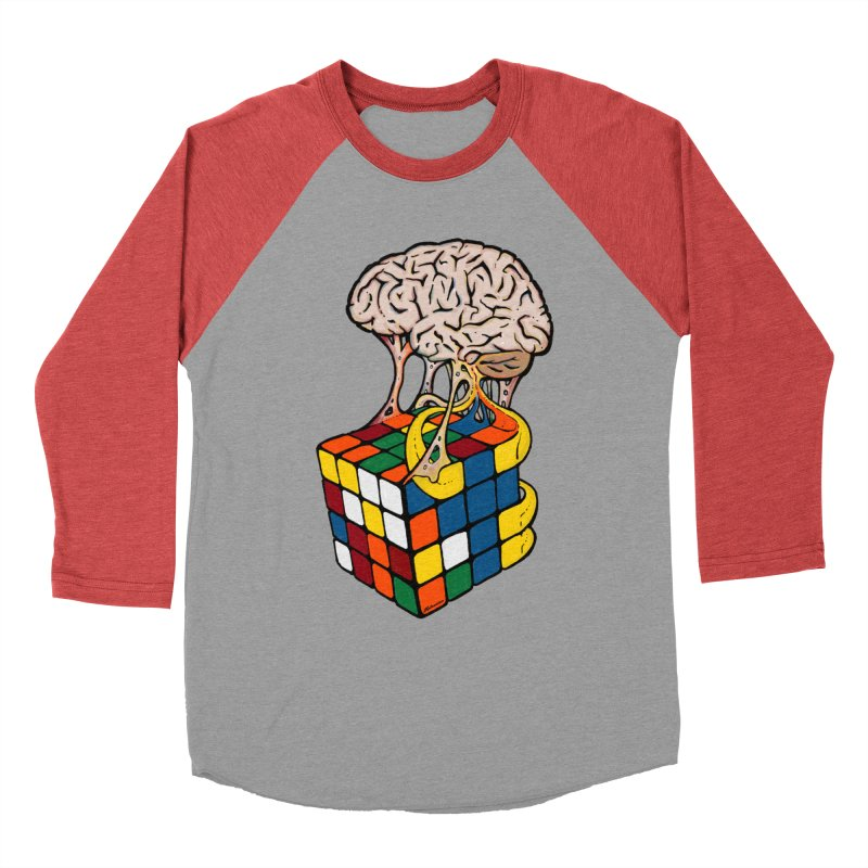 Cube Brain Men's Longsleeve T-Shirt by Kelsorian T-shirt Shop