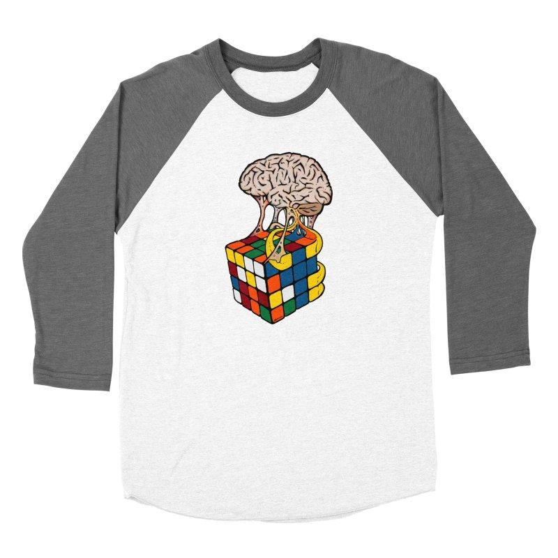Cube Brain Women's Longsleeve T-Shirt by Kelsorian T-shirt Shop
