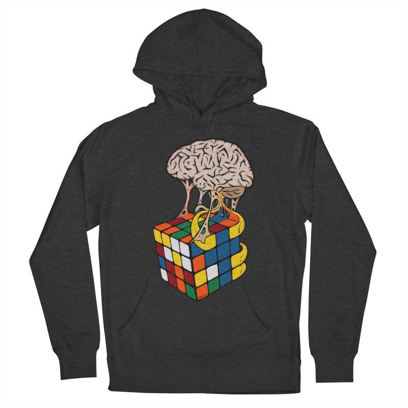 Cube Brain Men's Pullover Hoody by Kelsorian T-shirt Shop