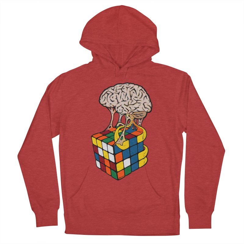 Cube Brain Men's Pullover Hoody by Kelsorian T-shirt Shop