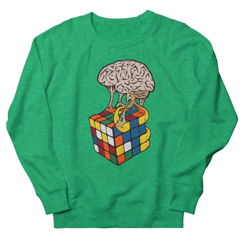 Cube Brain Women's French Terry Sweatshirt by Kelsorian T-shirt Shop