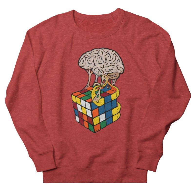 Cube Brain Men's Sweatshirt by Kelsorian T-shirt Shop
