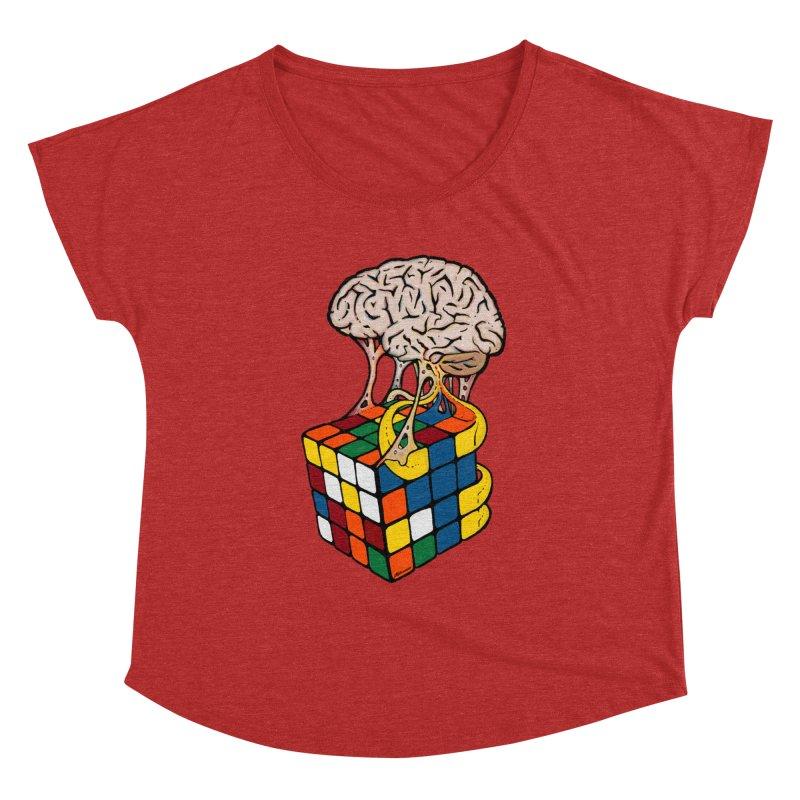 Cube Brain Women's Dolman by Kelsorian T-shirt Shop
