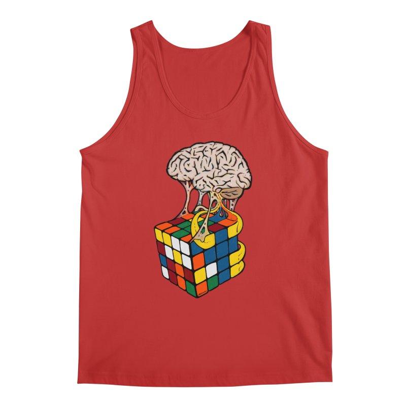 Cube Brain Men's Regular Tank by Kelsorian T-shirt Shop