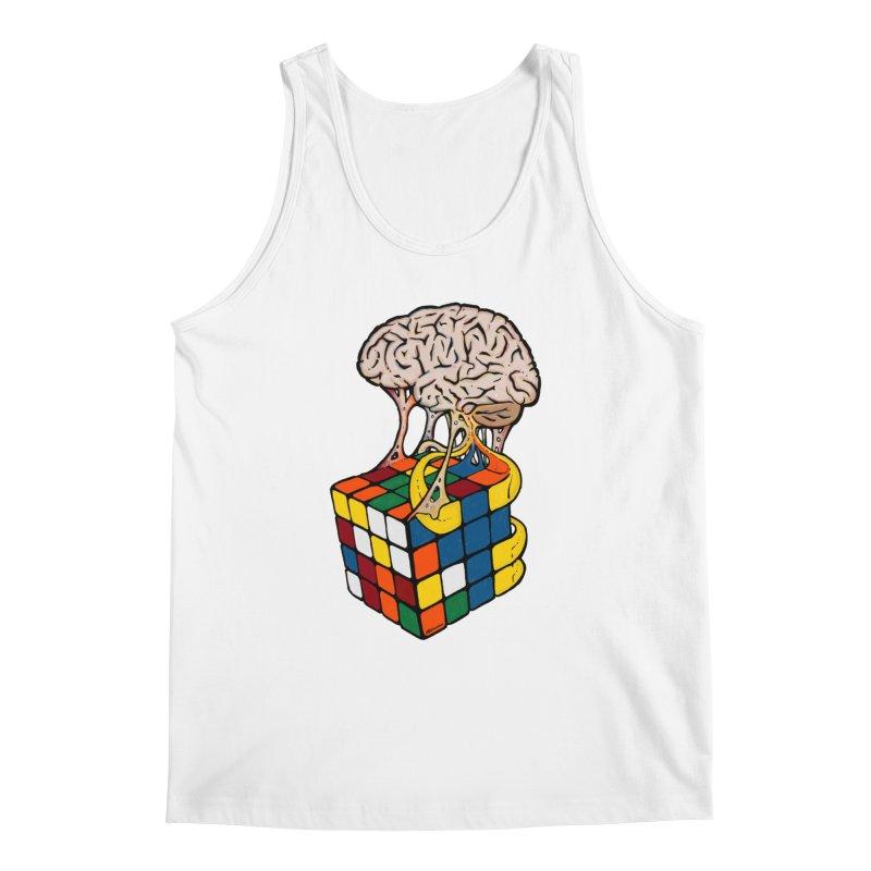 Cube Brain Men's Tank by Kelsorian T-shirt Shop