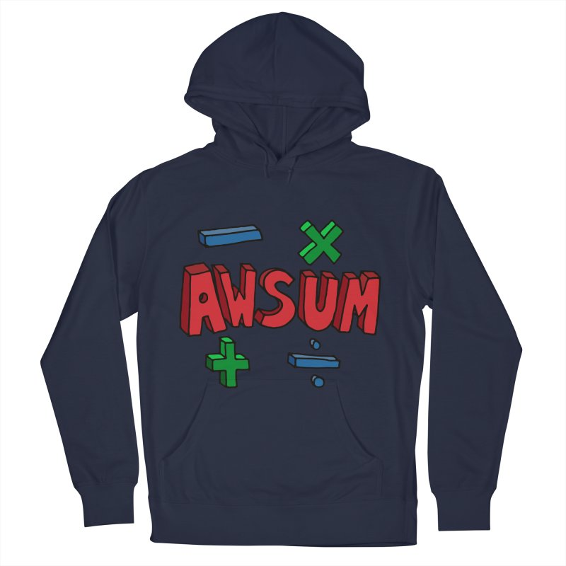 AwSum Men's Pullover Hoody by Kelsorian T-shirt Shop