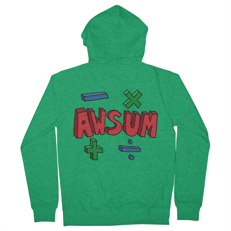 AwSum Women's Zip-Up Hoody by Kelsorian T-shirt Shop