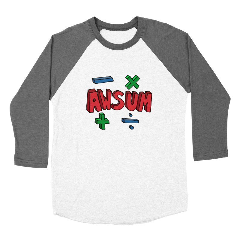 AwSum Women's Longsleeve T-Shirt by Kelsorian T-shirt Shop