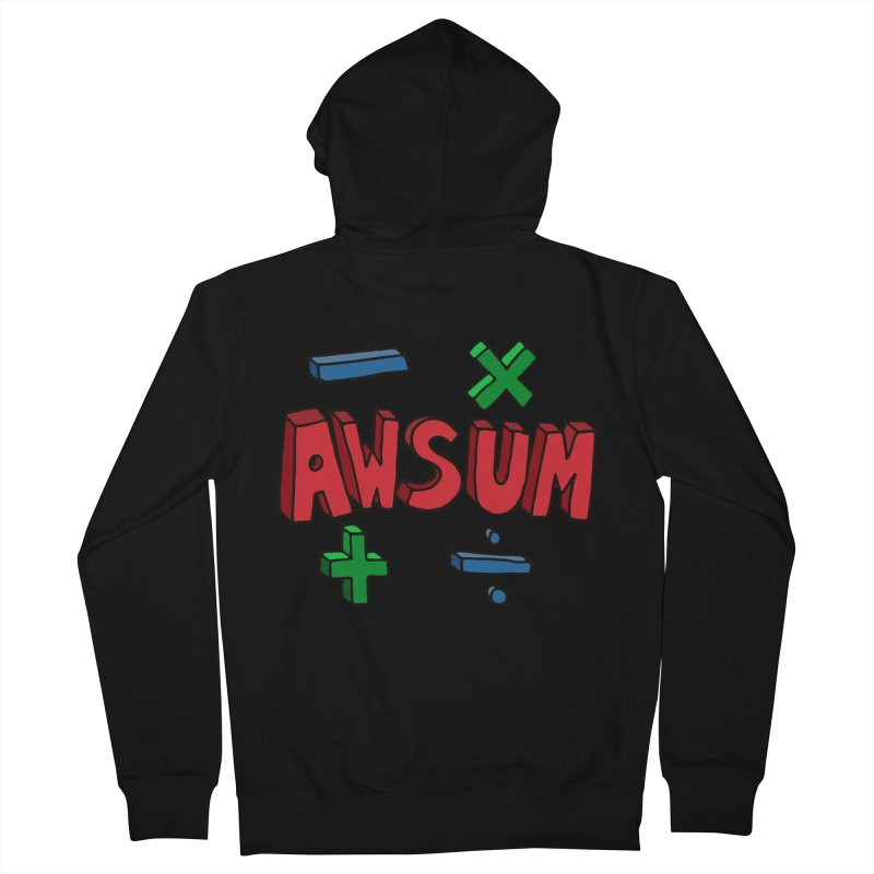 AwSum Men's Zip-Up Hoody by Kelsorian T-shirt Shop