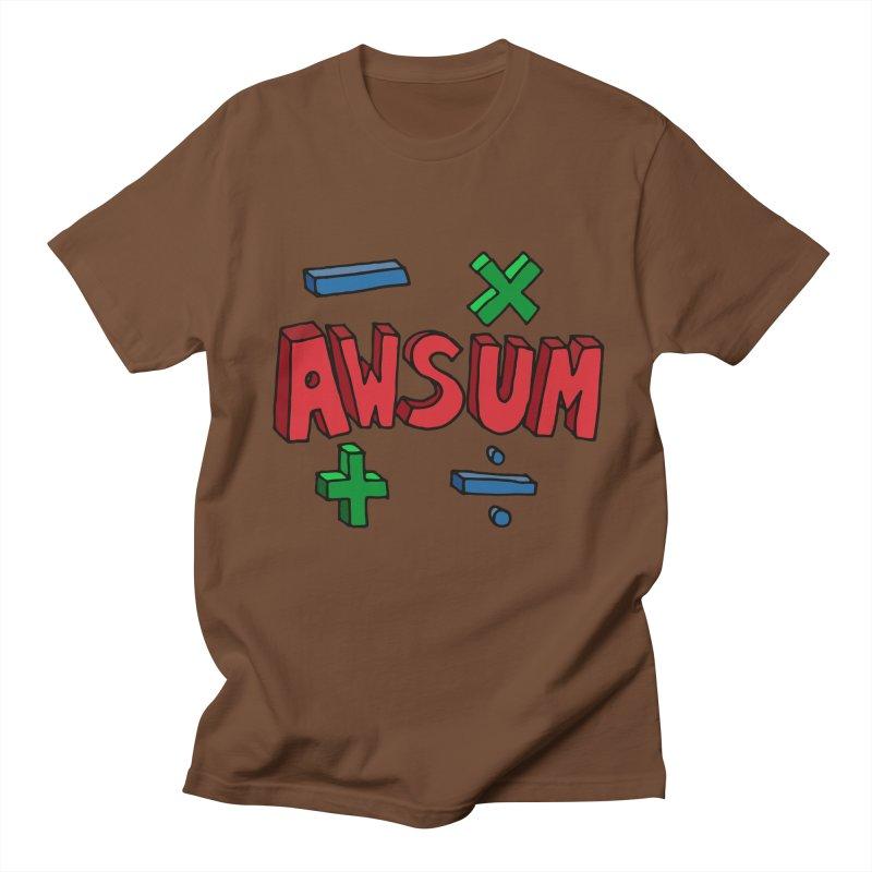 AwSum Men's T-Shirt by Kelsorian T-shirt Shop