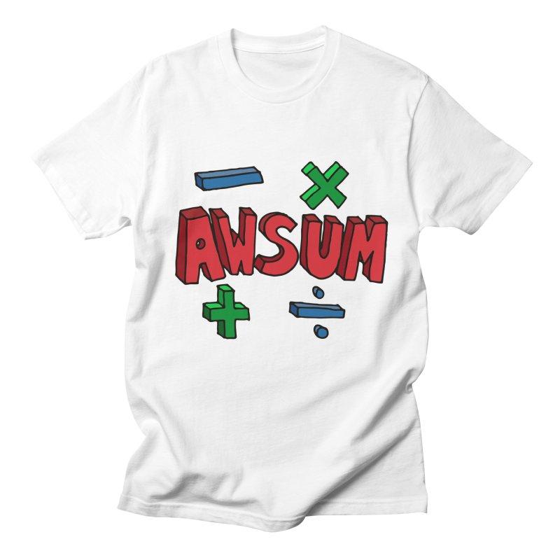 AwSum Men's  by Kelsorian T-shirt Shop