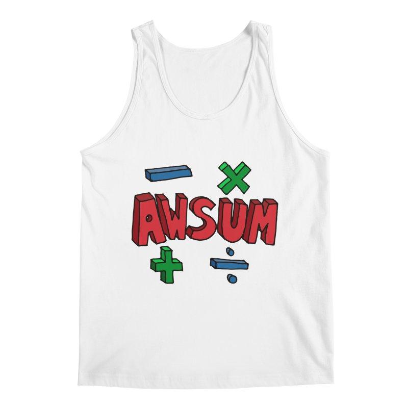 AwSum Men's Regular Tank by Kelsorian T-shirt Shop