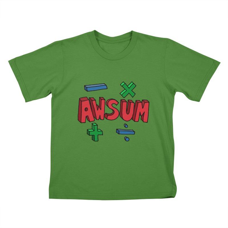 AwSum Kids T-Shirt by Kelsorian T-shirt Shop