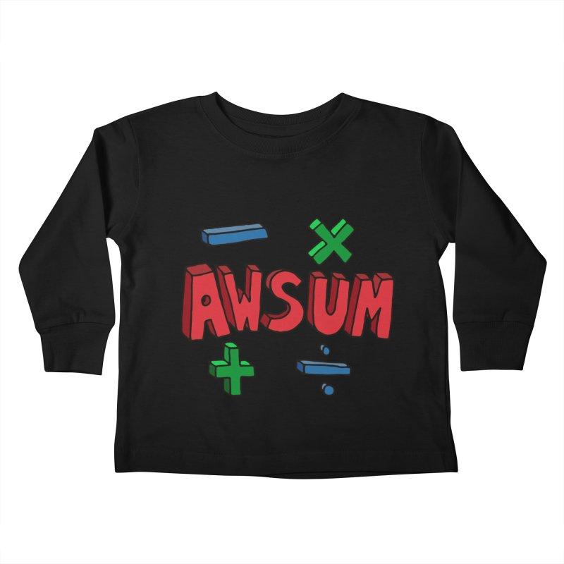 AwSum Kids Toddler Longsleeve T-Shirt by Kelsorian T-shirt Shop