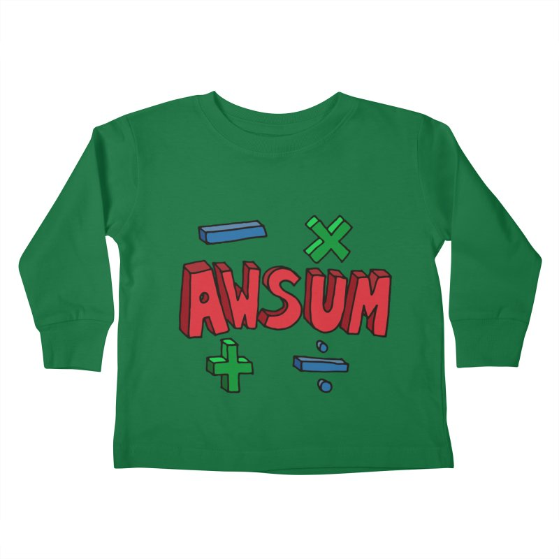 AwSum Kids Toddler Longsleeve T-Shirt by Kelsorian T-shirt Shop