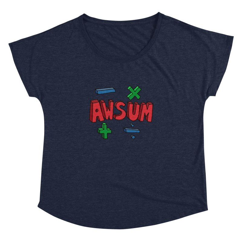 AwSum Women's  by Kelsorian T-shirt Shop