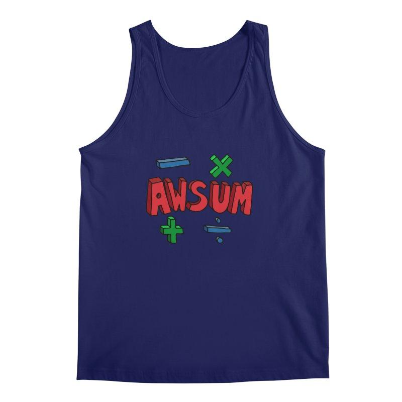 AwSum Men's Tank by Kelsorian T-shirt Shop