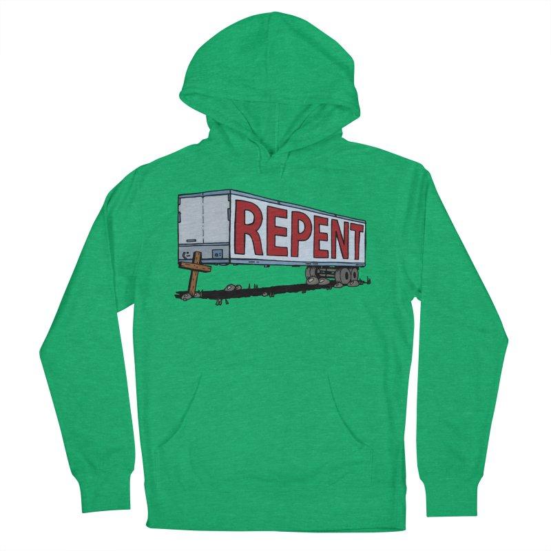 Repent Cross Trailer Women's Pullover Hoody by Kelsorian T-shirt Shop