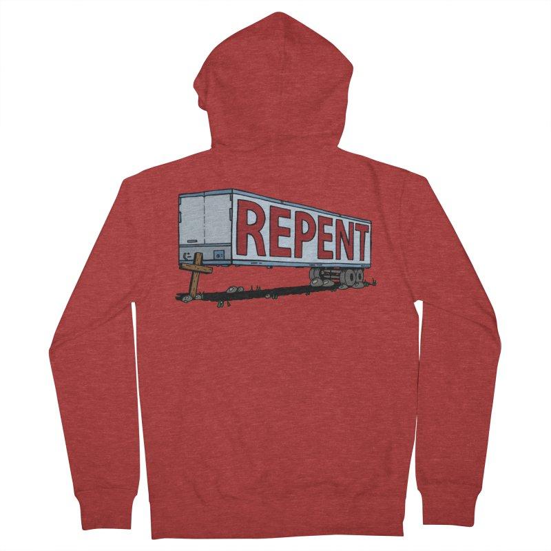 Repent Cross Trailer Men's  by Kelsorian T-shirt Shop