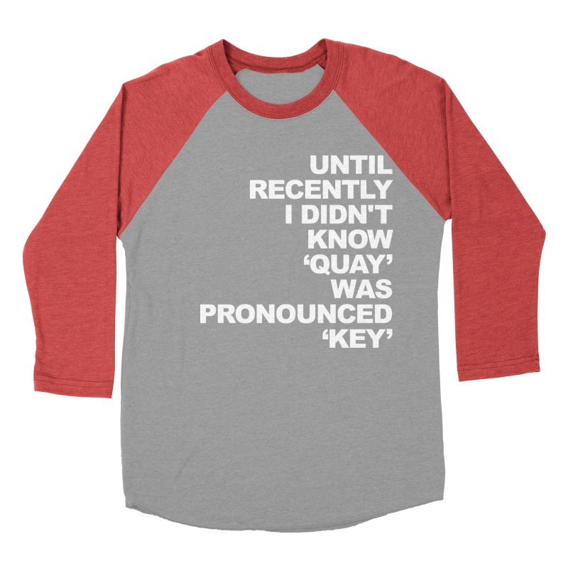 Quay or Key? Men's Longsleeve T-Shirt by Kelsorian T-shirt Shop