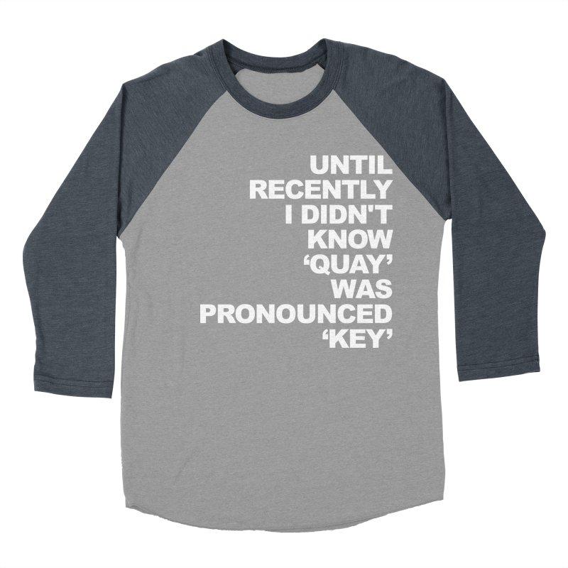 Quay or Key? Men's Longsleeve T-Shirt by Kelsorian T-shirt Shop