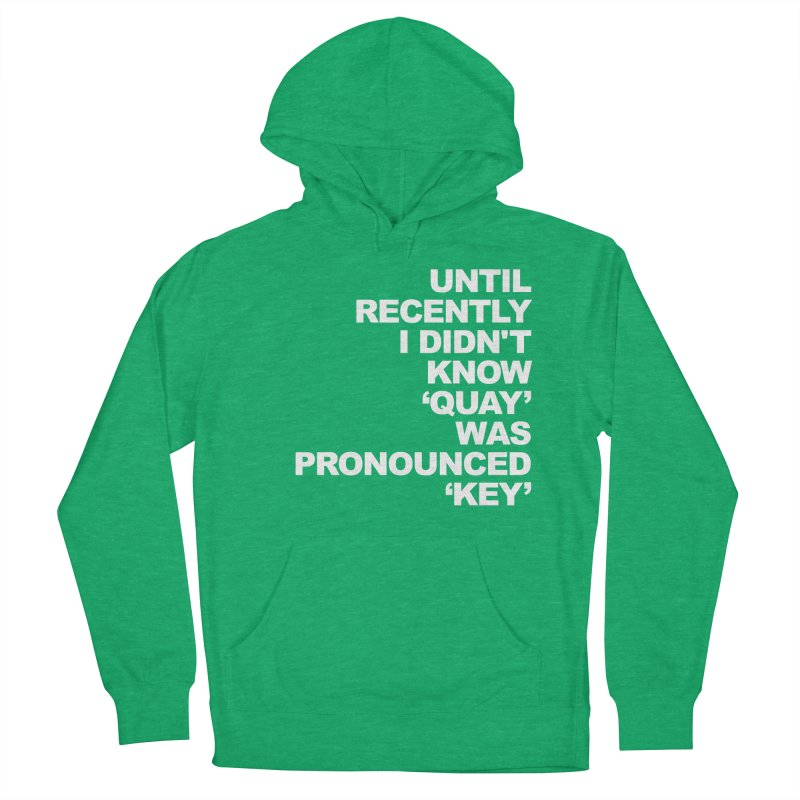 Quay or Key? Women's Pullover Hoody by Kelsorian T-shirt Shop