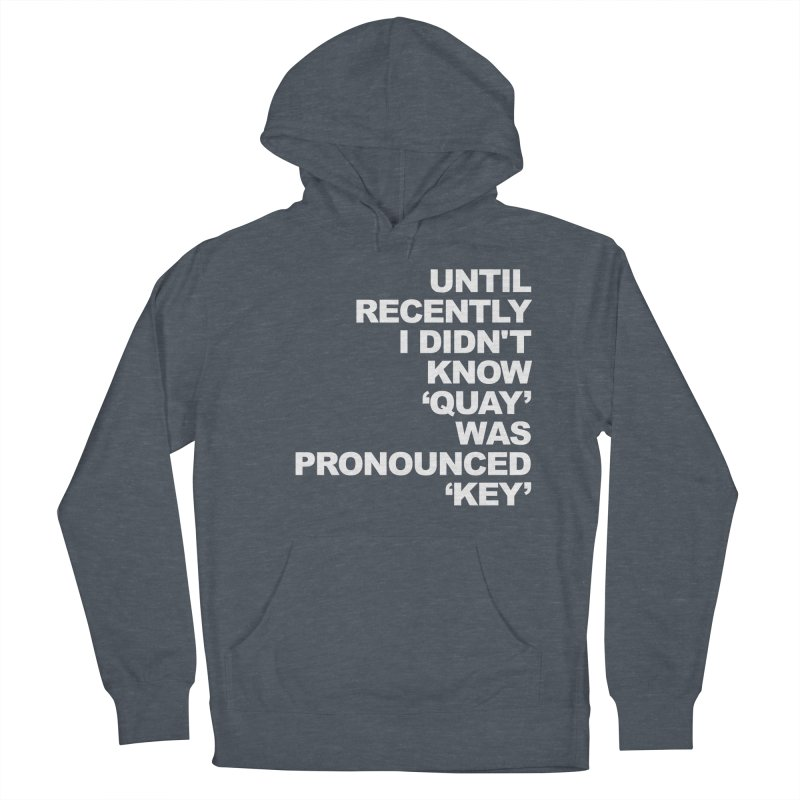 Quay or Key? Men's Pullover Hoody by Kelsorian T-shirt Shop