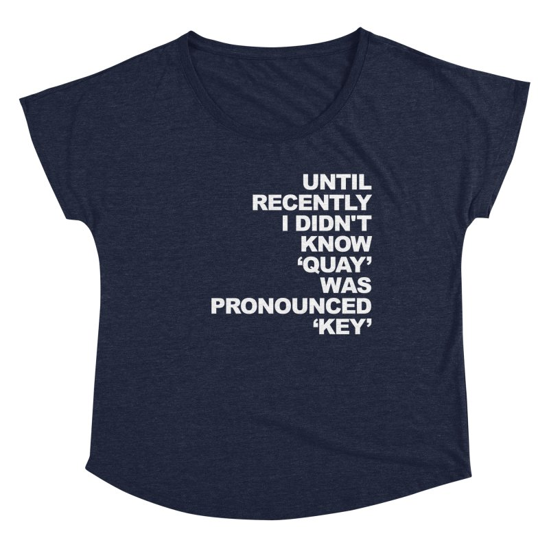Quay or Key? Women's Scoop Neck by Kelsorian T-shirt Shop