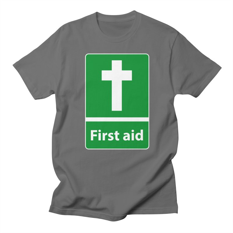 First Aid Cross Men's T-Shirt by Kelsorian T-shirt Shop