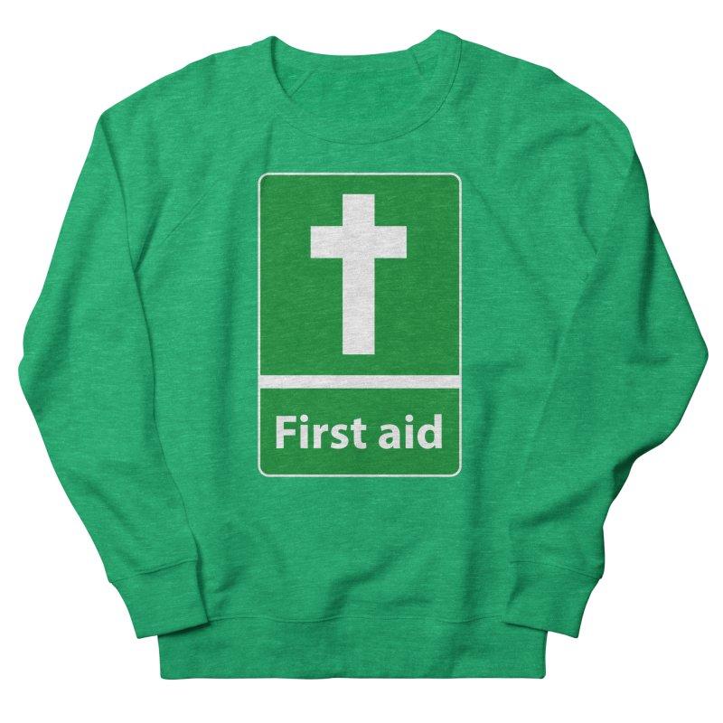 First Aid Cross Women's Sweatshirt by Kelsorian T-shirt Shop