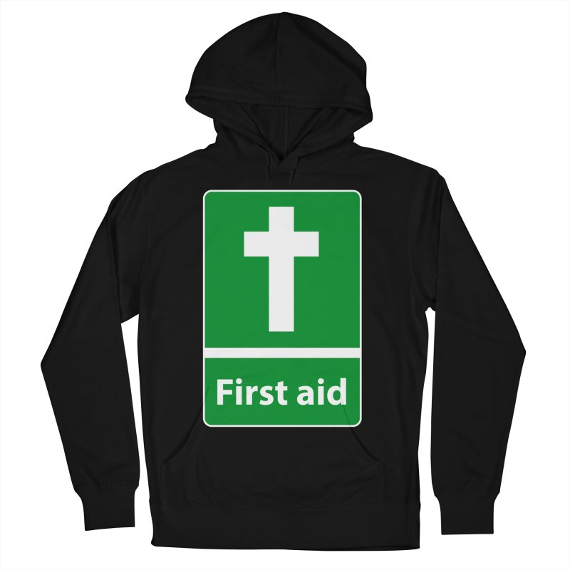 First Aid Cross Men's Pullover Hoody by Kelsorian T-shirt Shop