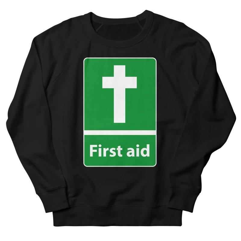 First Aid Cross Men's Sweatshirt by Kelsorian T-shirt Shop