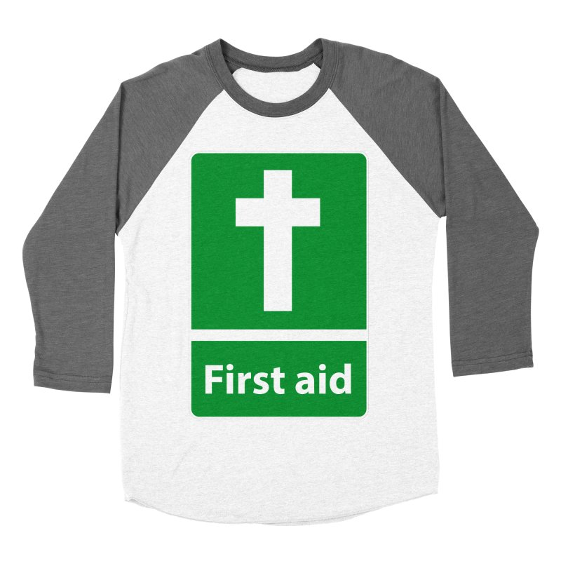 First Aid Cross Women's Longsleeve T-Shirt by Kelsorian T-shirt Shop