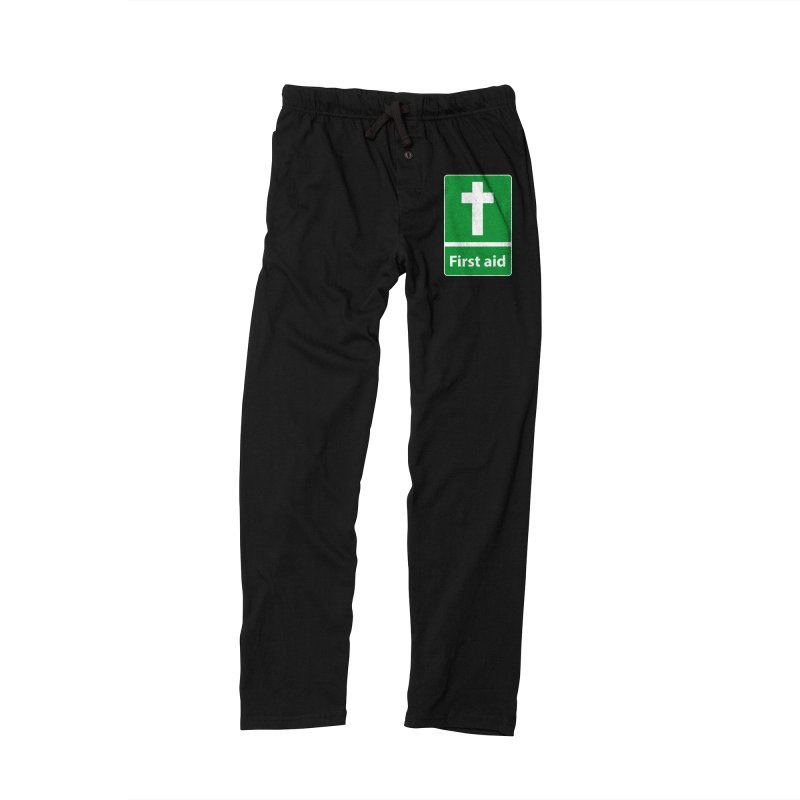 First Aid Cross Men's Lounge Pants by Kelsorian T-shirt Shop