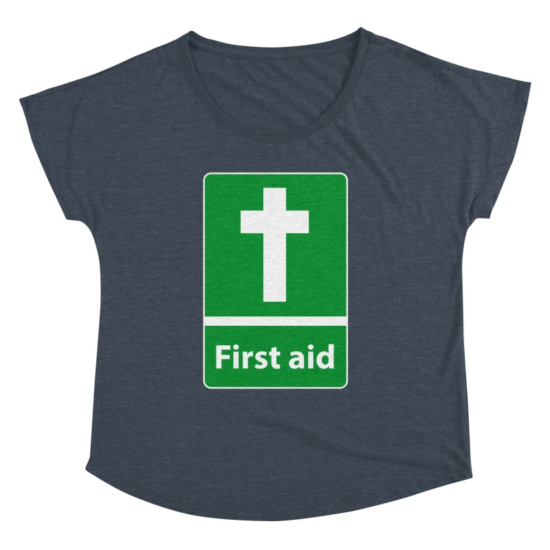 First Aid Cross Women's Dolman by Kelsorian T-shirt Shop