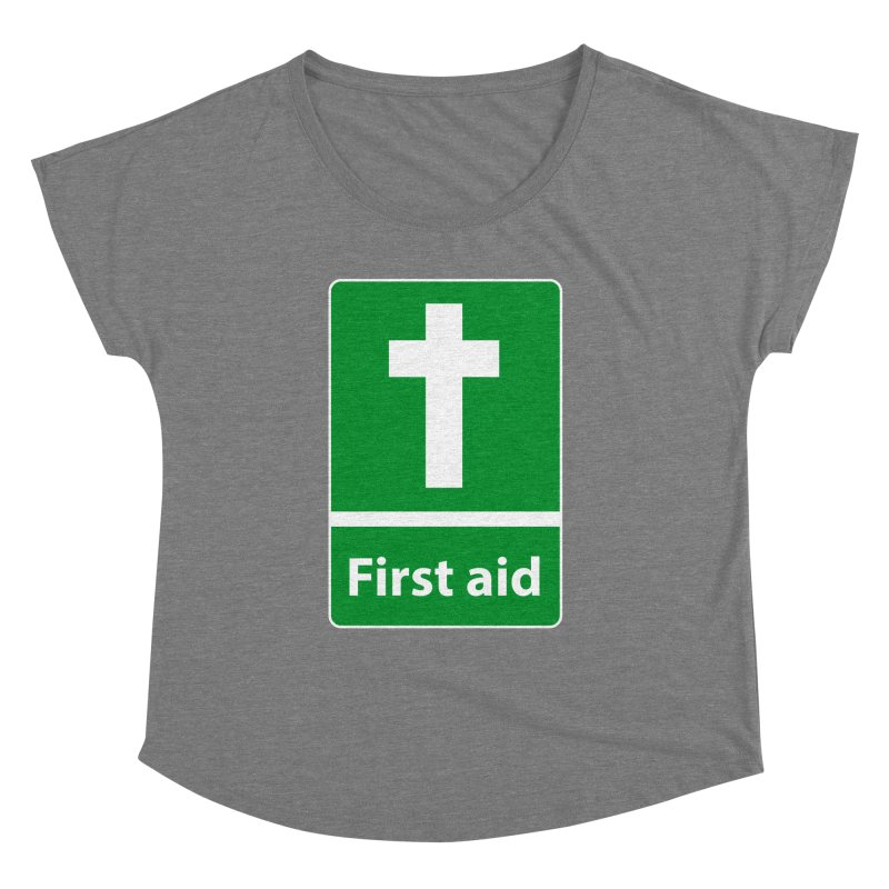First Aid Cross Women's  by Kelsorian T-shirt Shop