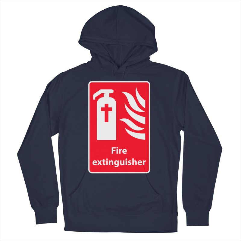 Fire Extinguisher For Hell Men's Pullover Hoody by Kelsorian T-shirt Shop