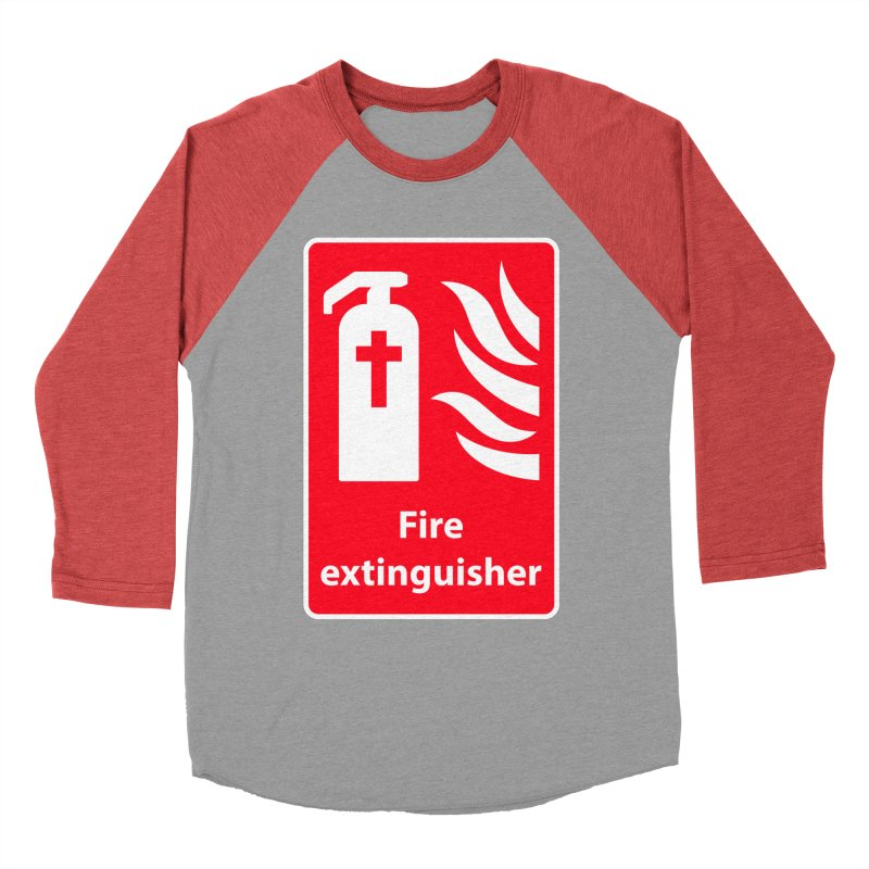 Fire Extinguisher For Hell Men's Longsleeve T-Shirt by Kelsorian T-shirt Shop