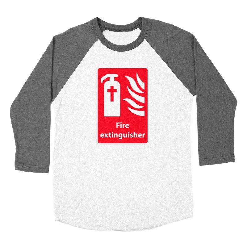 Fire Extinguisher For Hell Women's Longsleeve T-Shirt by Kelsorian T-shirt Shop
