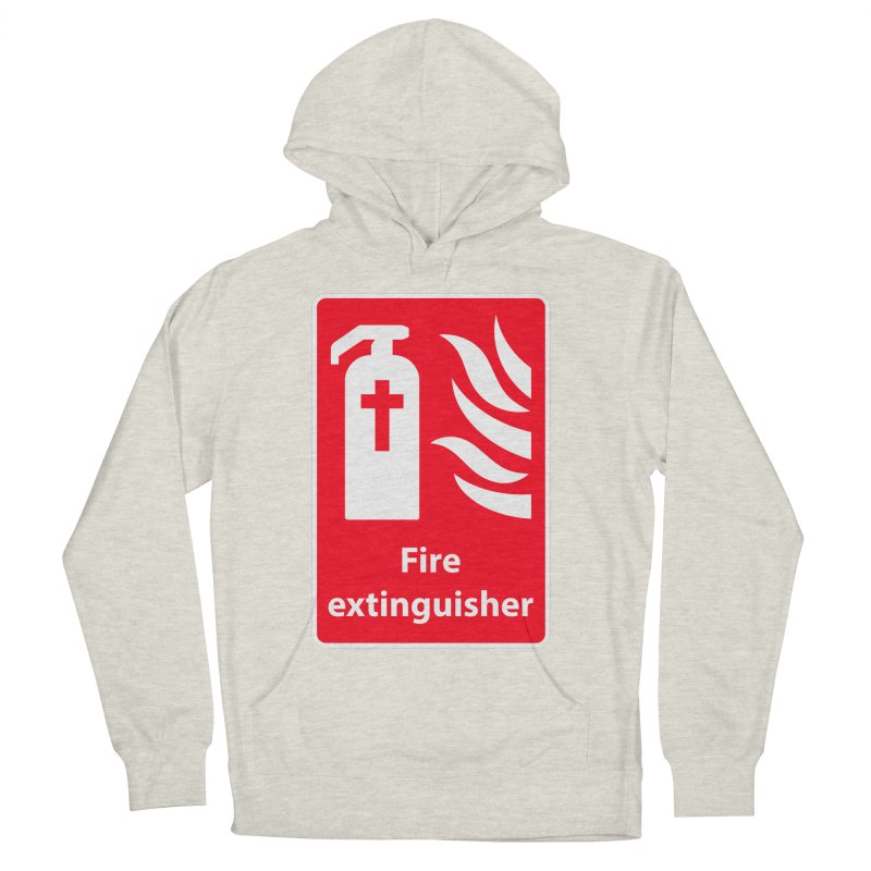 Fire Extinguisher For Hell Women's French Terry Pullover Hoody by Kelsorian T-shirt Shop