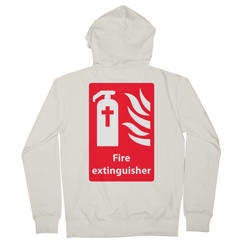 Fire Extinguisher For Hell Women's Zip-Up Hoody by Kelsorian T-shirt Shop